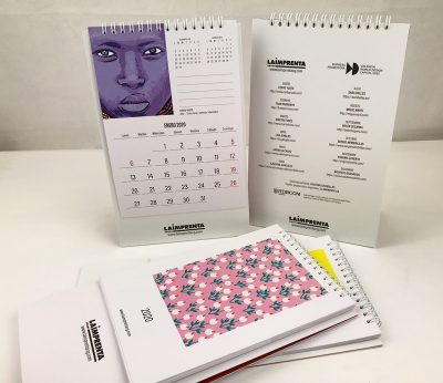 calendario la imprenta 2020