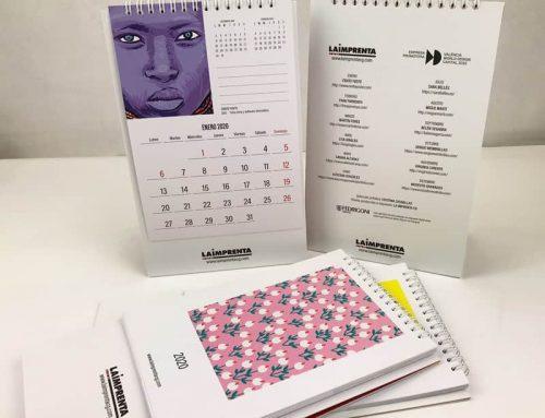 Calendario 2020 de La Imprenta CG: 12 meses, 12 dibujos