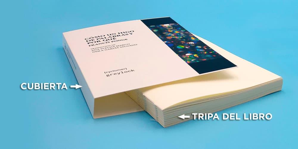 Tripa o mazo del libro