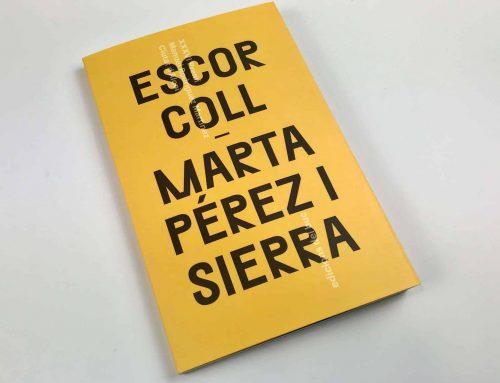 Libro de poesía de Marta Pérez i Sierra diseñado por Dídac Ballester