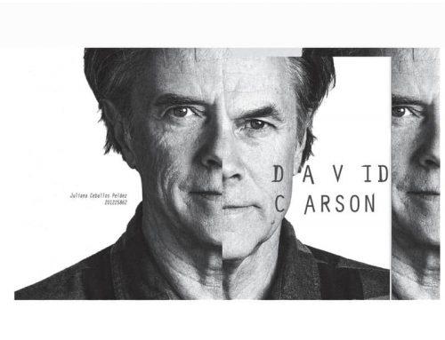 David Carson: el influyente diseñador de la tipografía grunge