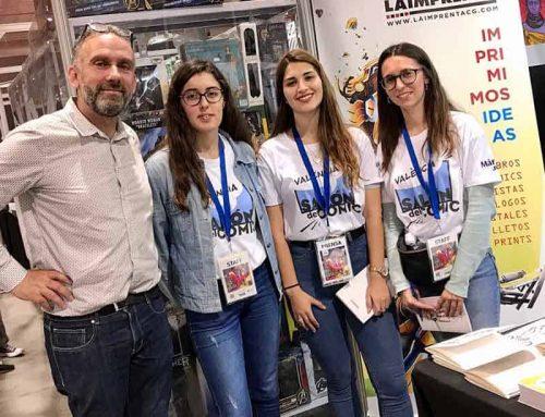 Entrevista a Armand Llàcer, de La Imprenta CG, en el Salón del Cómic