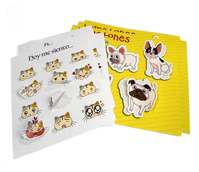 pegatinas personalizadas o stickers