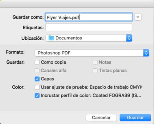 guardar photoshop como pdf paso 1