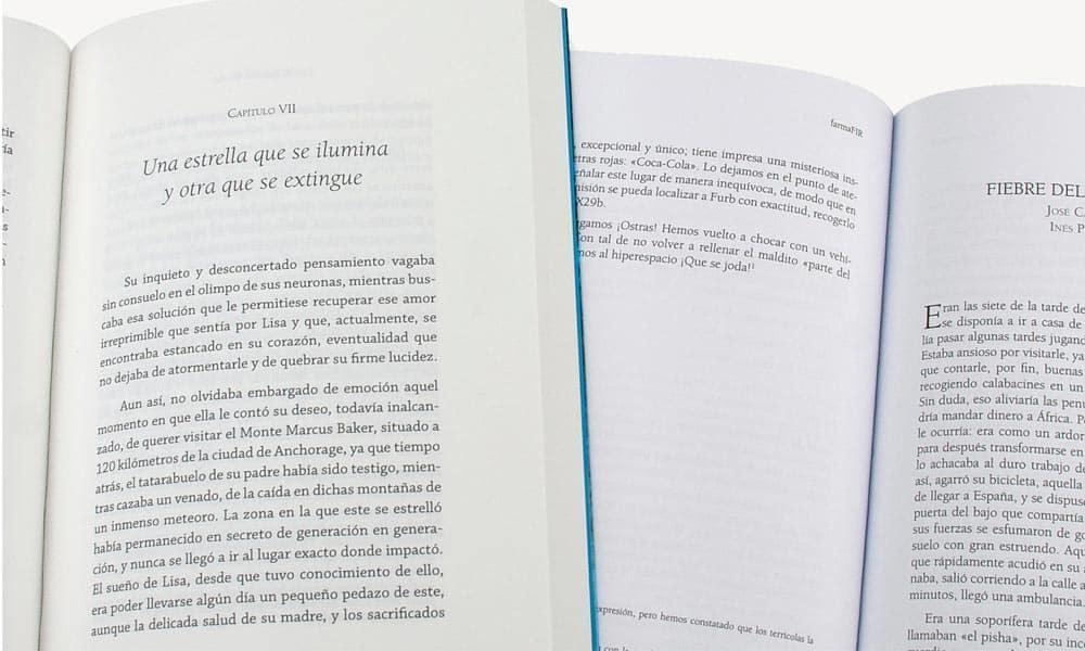 Uso de tipografías en libros ejemplo 7