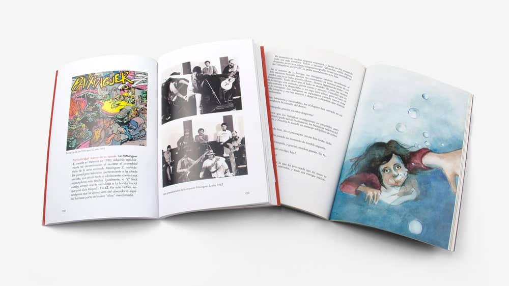 ejemplo de libros en color maquetados profesionalmente