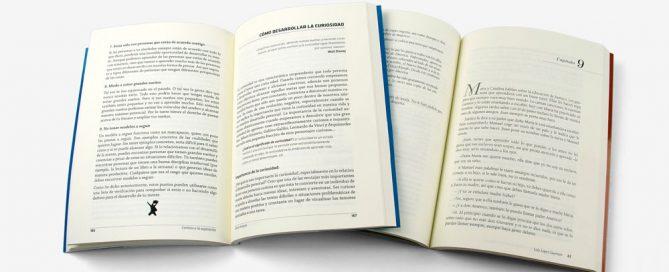 maquetar novelas y libros de autoayuda