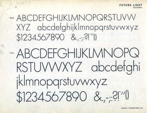 Futura: la historia de una tipografía en la Luna con el Apolo XI