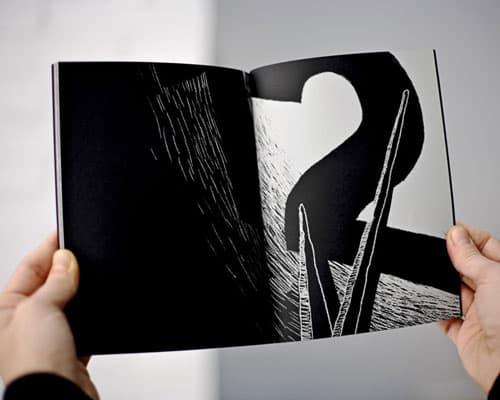 doble pagina de un libro editado