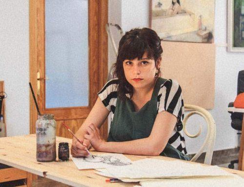 El refrescante talento de Sara Bellés ilustra julio de nuestro calendario