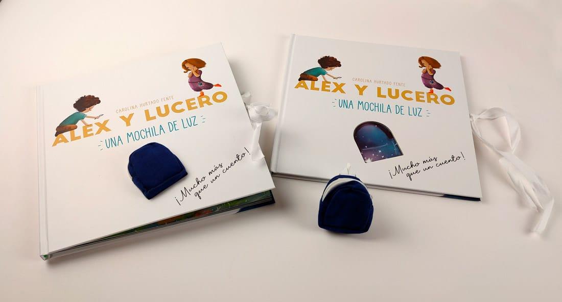 Cuento Alex y Lucero. Una mochila de luz