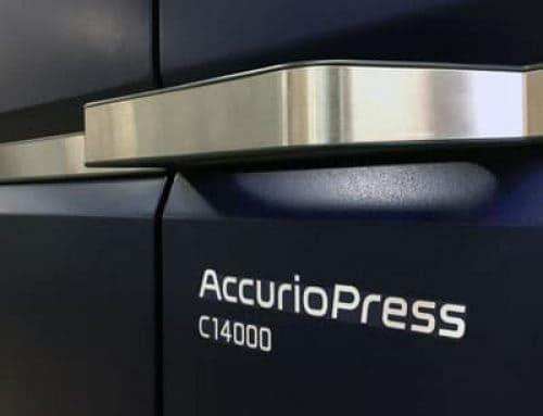 Instalamos nueva prensa de impresión digital