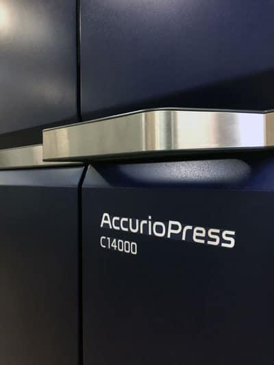 Impresión digital de calidad con AccurioPress