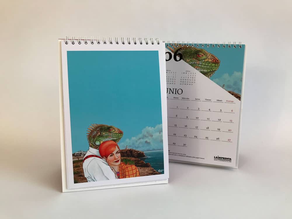calendario la imprenta cg 2021