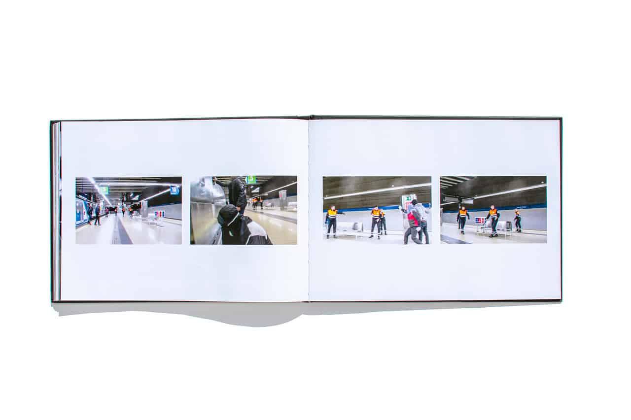 secuencia de fotografías