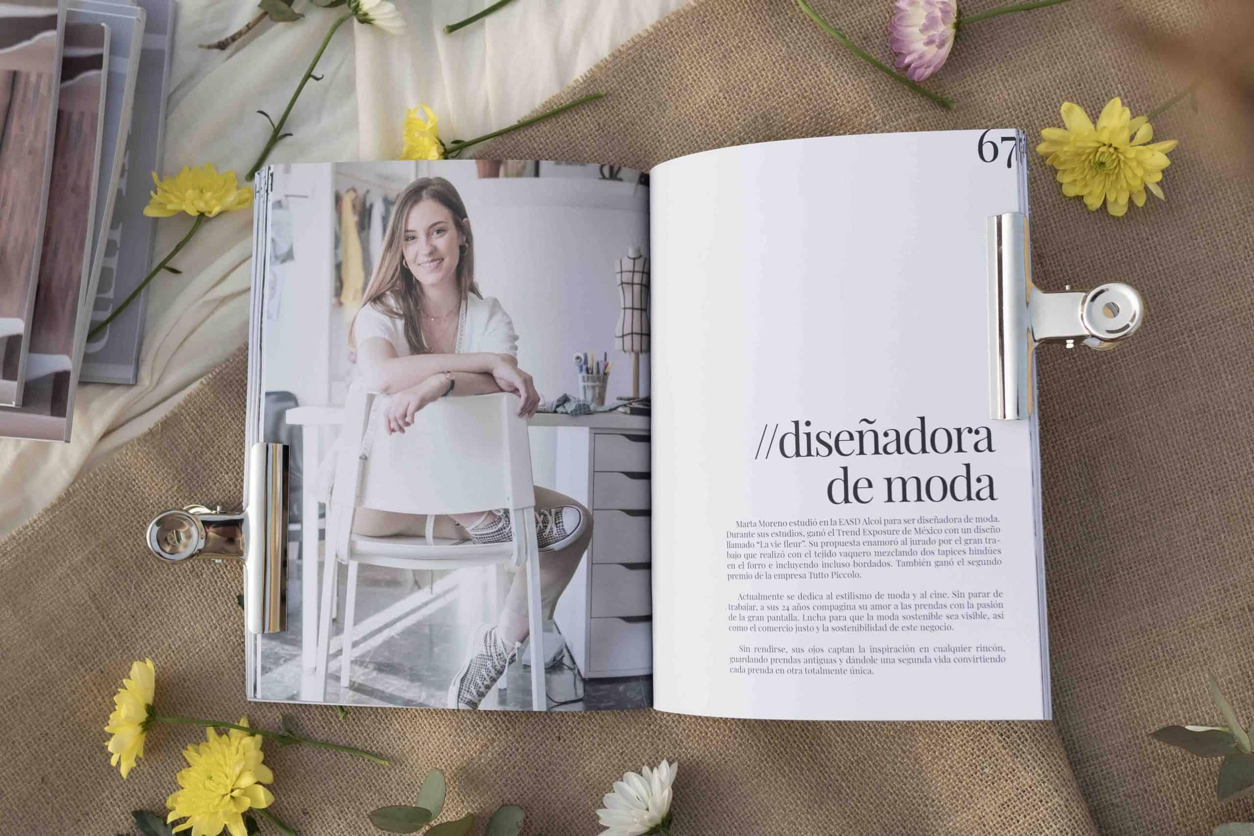 pagina interior de la revista