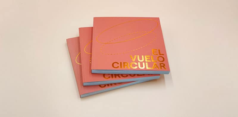 portadas del fotolibro el vuelo circular