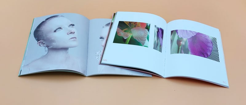 muestra de dobles páginas de los catálogos