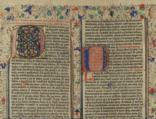 El Catholicon de Giovanni Balbi, el primer diccionario impreso