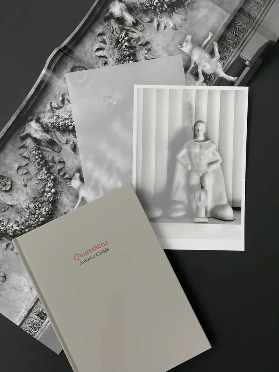 Lámina incluida con el libro de fotografía Quarentena