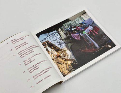 Imprimimos el catálogo de la expo sobre Líbano de Germán Caballero
