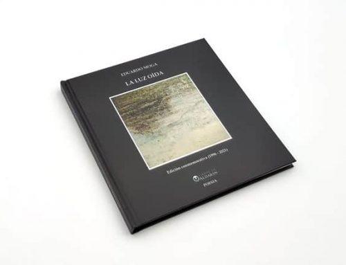 'La luz oída', reedición conmemorativa del poemario de Eduardo Moga
