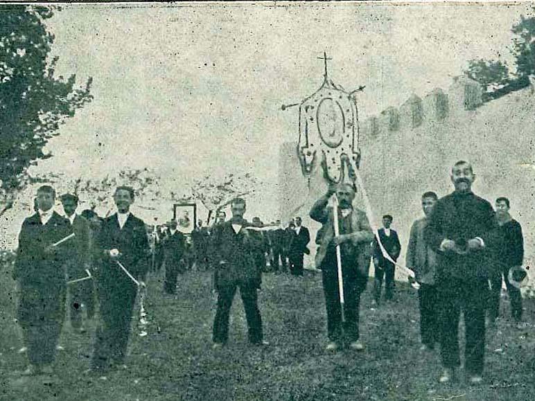 San Juan ante portam latinam