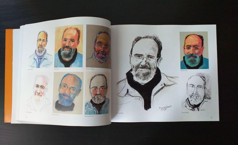 doble página interior del libro 5