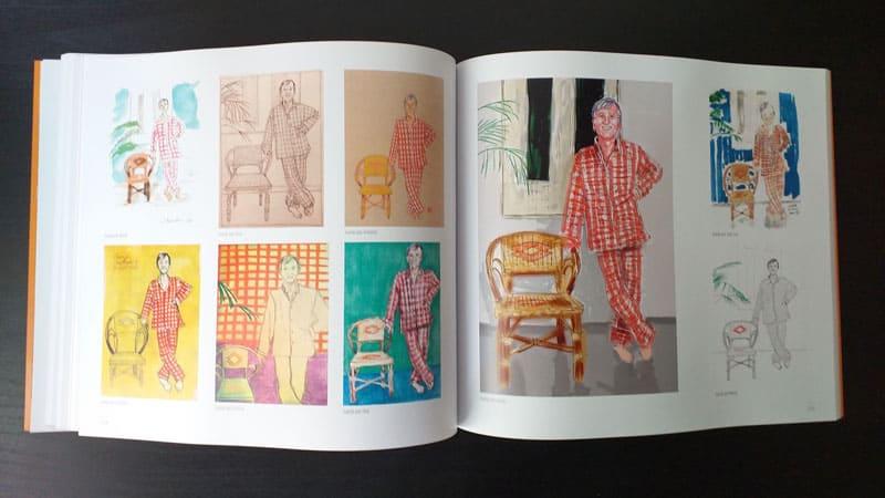 doble página interior del libro 4