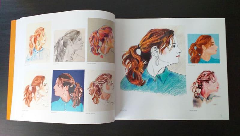 doble página interior del libro 3