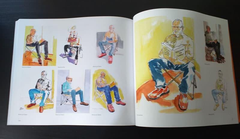 doble página interior del libro 2