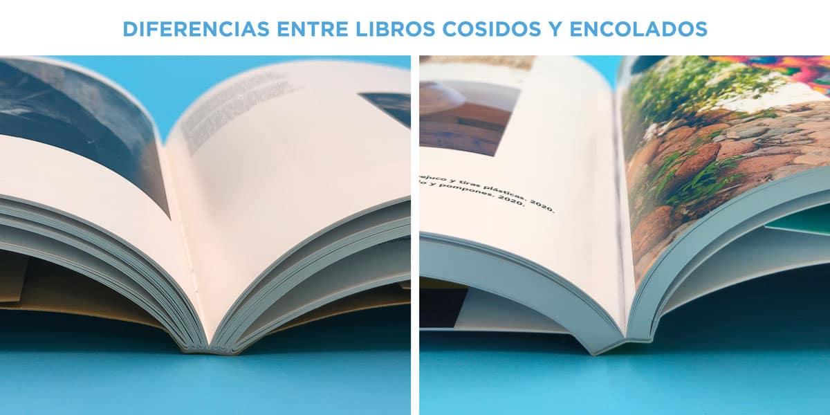 libros cosidos