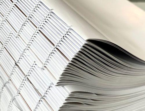 Libros cosidos: en qué consisten y cómo se encuadernan