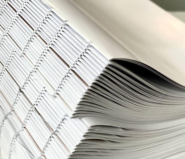 imprimir libros cosidos