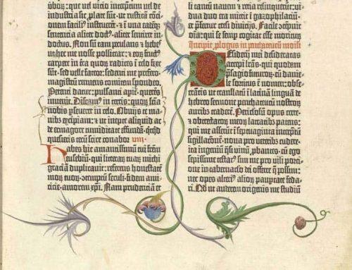 Los facsímiles del Museo de la Imprenta: La Biblia de Gutenberg